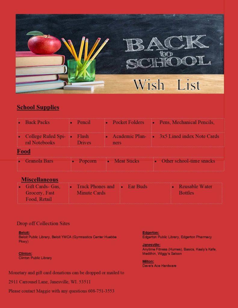 Back to School 2020 wish list