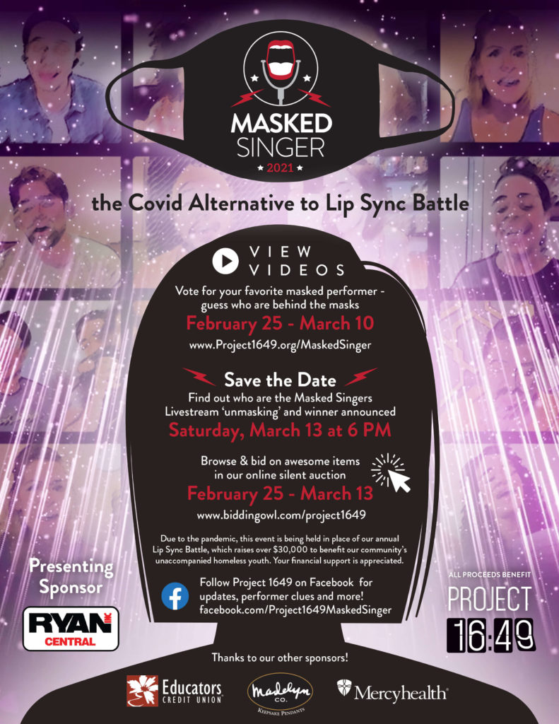 The Masked Singer flyer